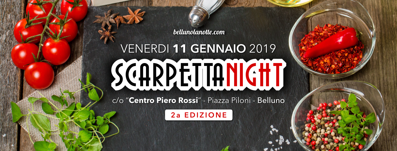 Scarpetta Night 2019 - Belluno
