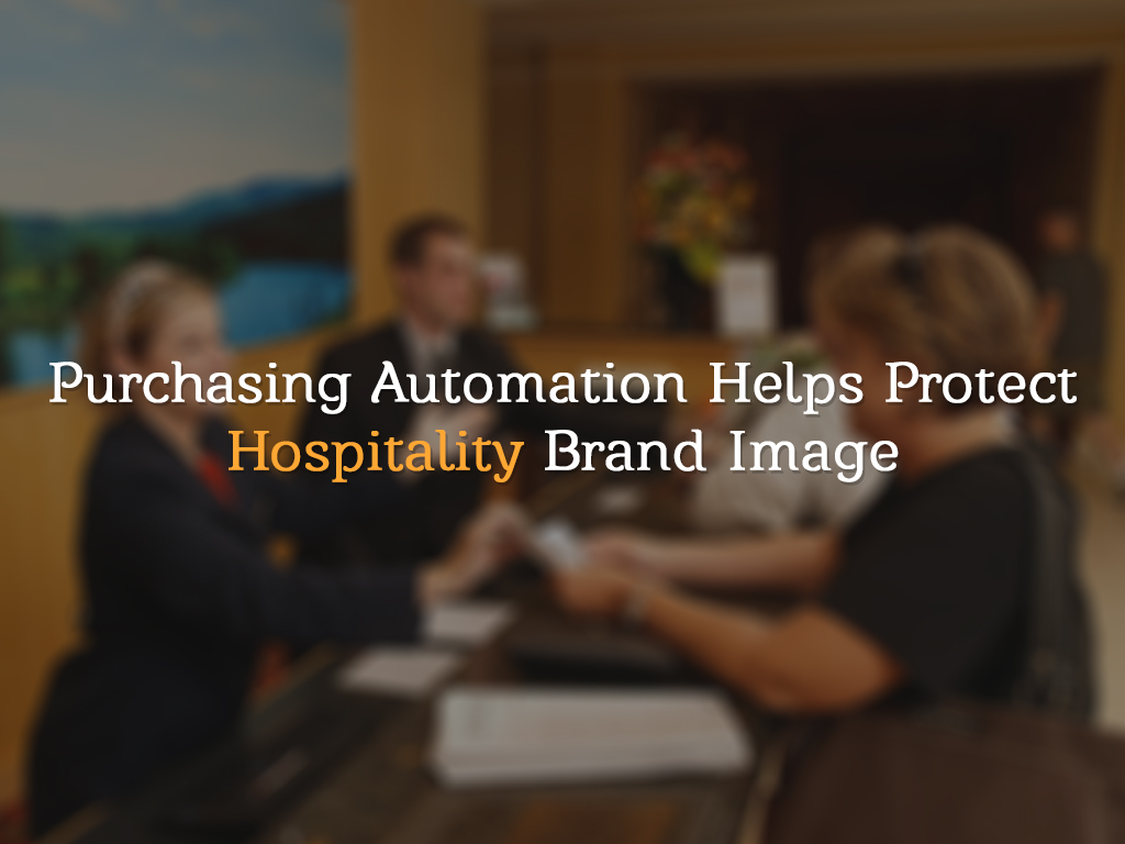 Purchasing automation software for Hospitality