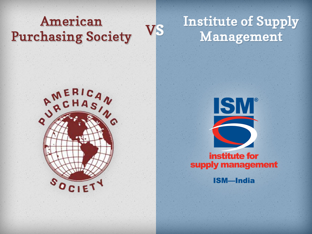 American Purchasing Society vs. Institute of Supply Management