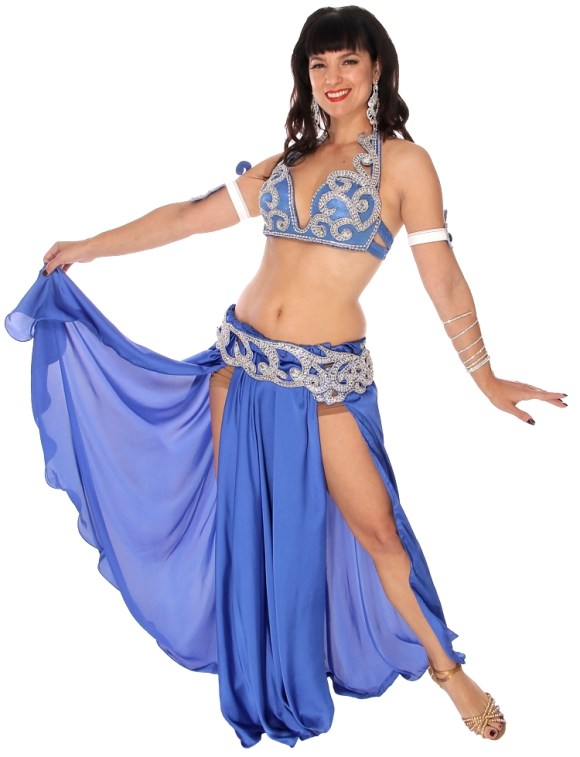 8251-CAIRO COLLECTION: Professional Belly Dance Costume from