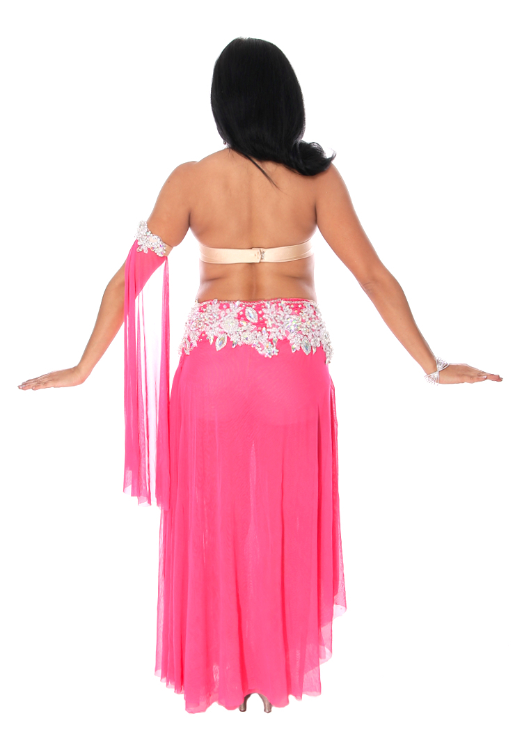 Professional Hot Pink Belly Dance Costume from Egypt at ...
