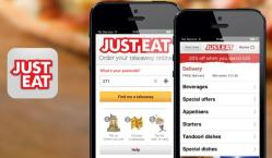 The Just Eat phone app