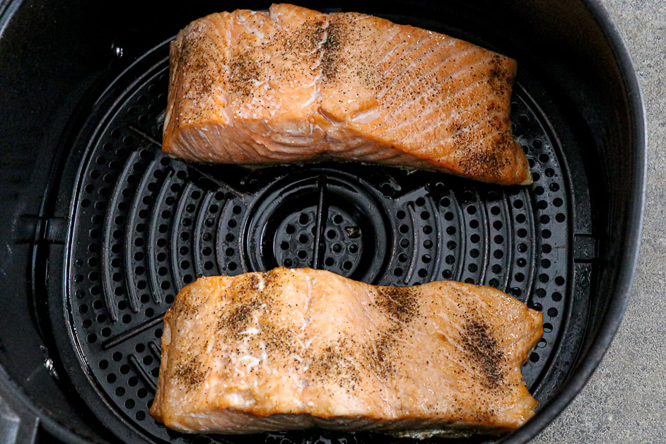 Air Fryer Sesame Salmon