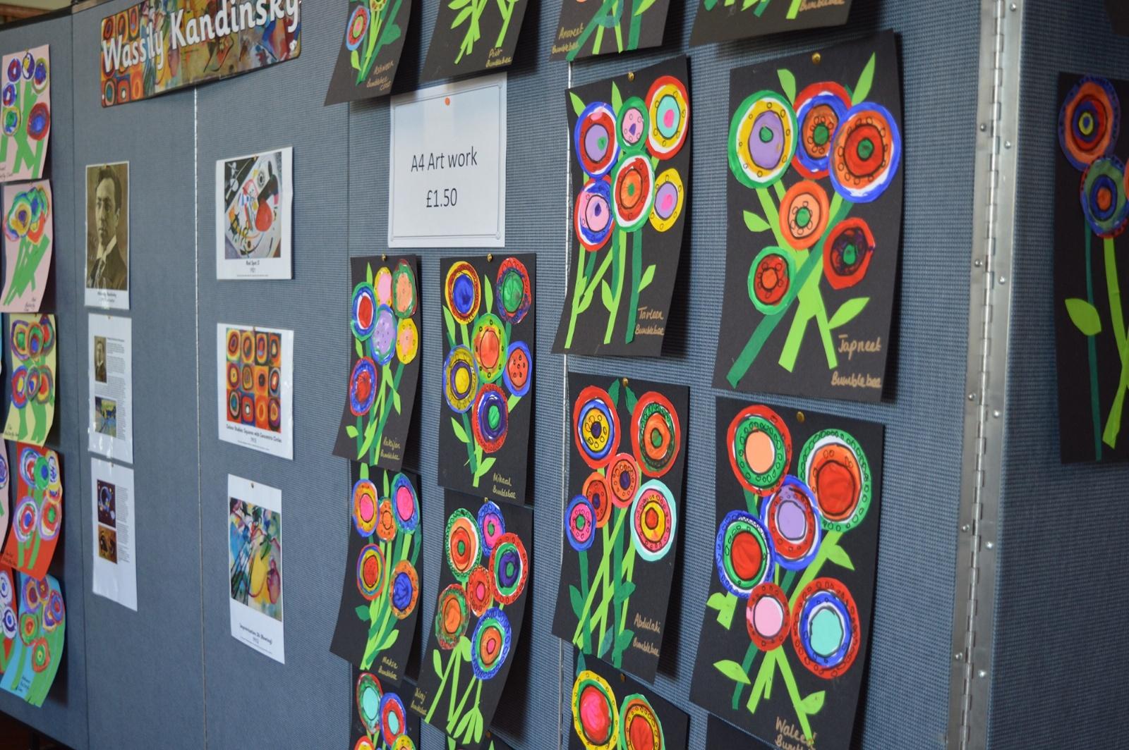 Belmore Primary Academy KS1 and KS2 Art Exhibition