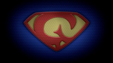 """The letter G in the style of """"Man of Steel"""" - color texture version"""