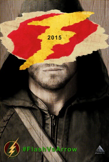 Flash Vs Arrow - Arrow Poster