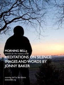poster for morning bell series with Jonny Baker on silence