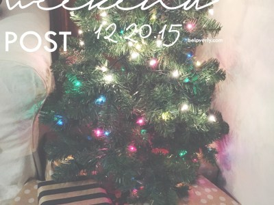 The Weekend Post 12.20.15