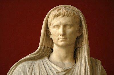 Keizer Augustus Pontifex Maximus