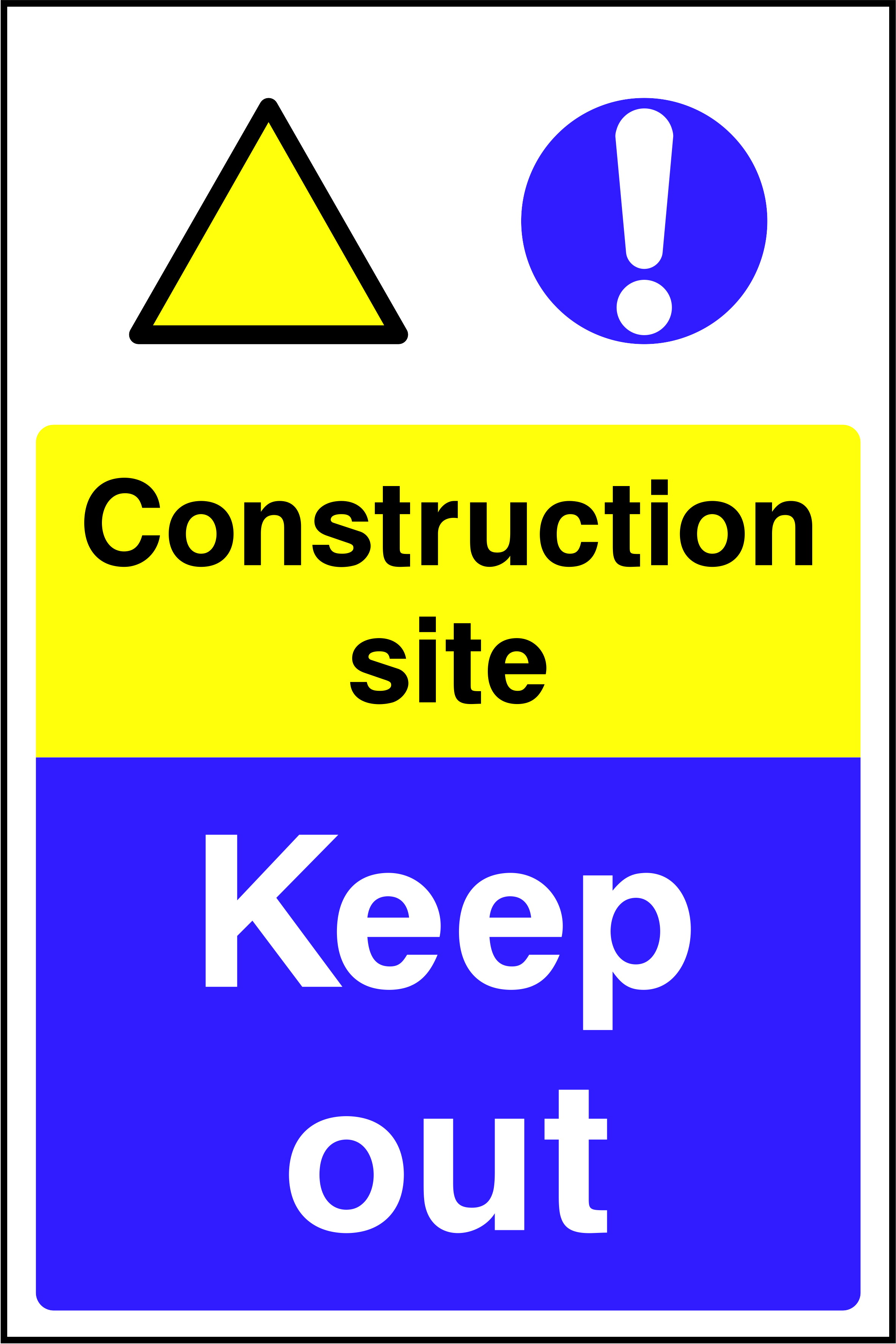 Health Amp Safety Signs