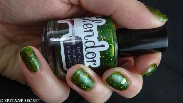 Splendor Nail Lacquer Private Points