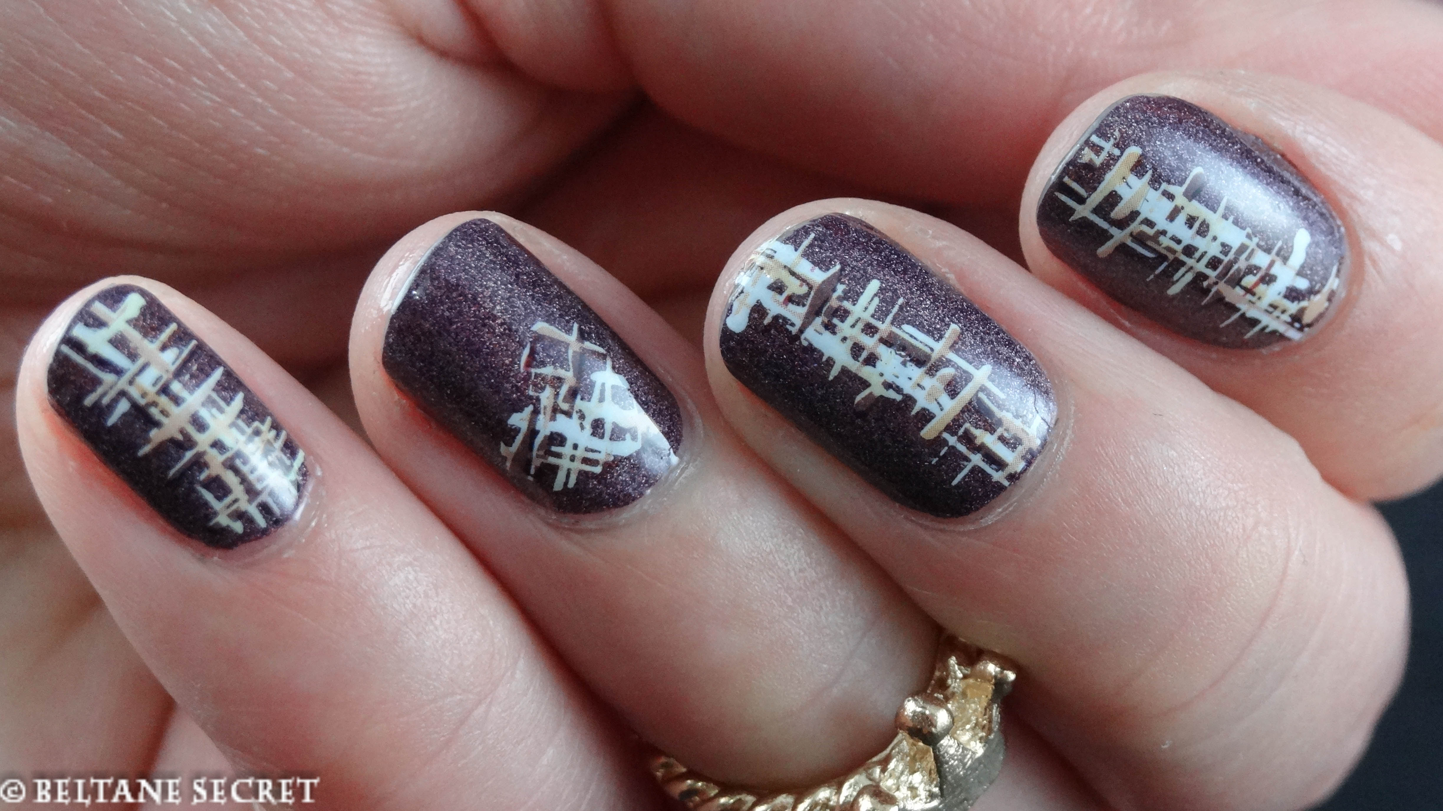 Sleeping Palace A England BornPrettyStore water decals DLS-109