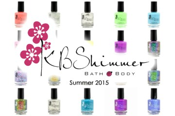 kb shimmer 2015 summer collection