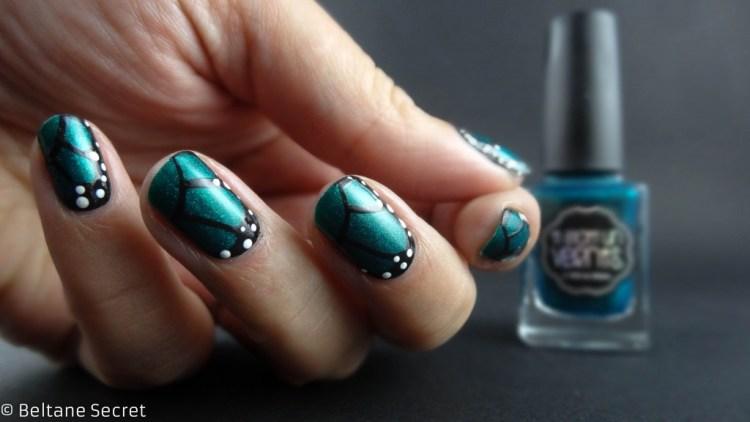 Twin Nails Sistafaraie Wings Nail Art