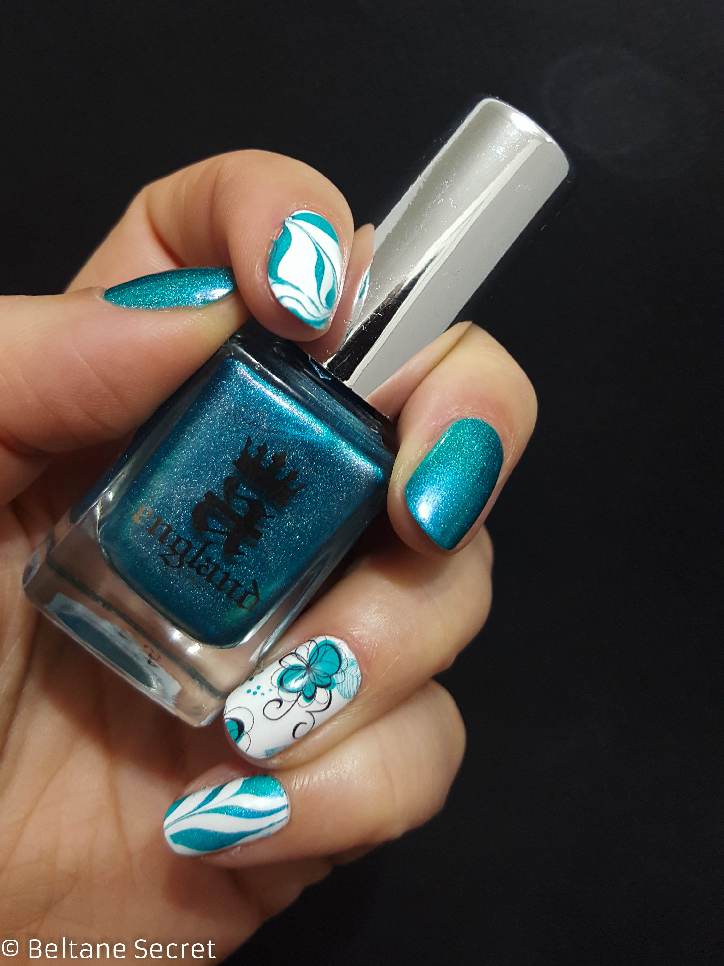 mix & match watermable water decal nail polish
