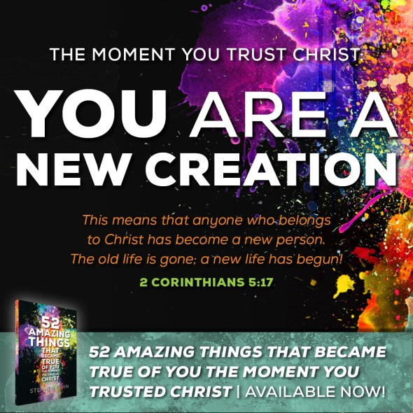 You Are a New Creation | This means that anyone who belongs to Christ has become a new person. The old life is gone; a new life has begun! (2 corinthians 5:17)