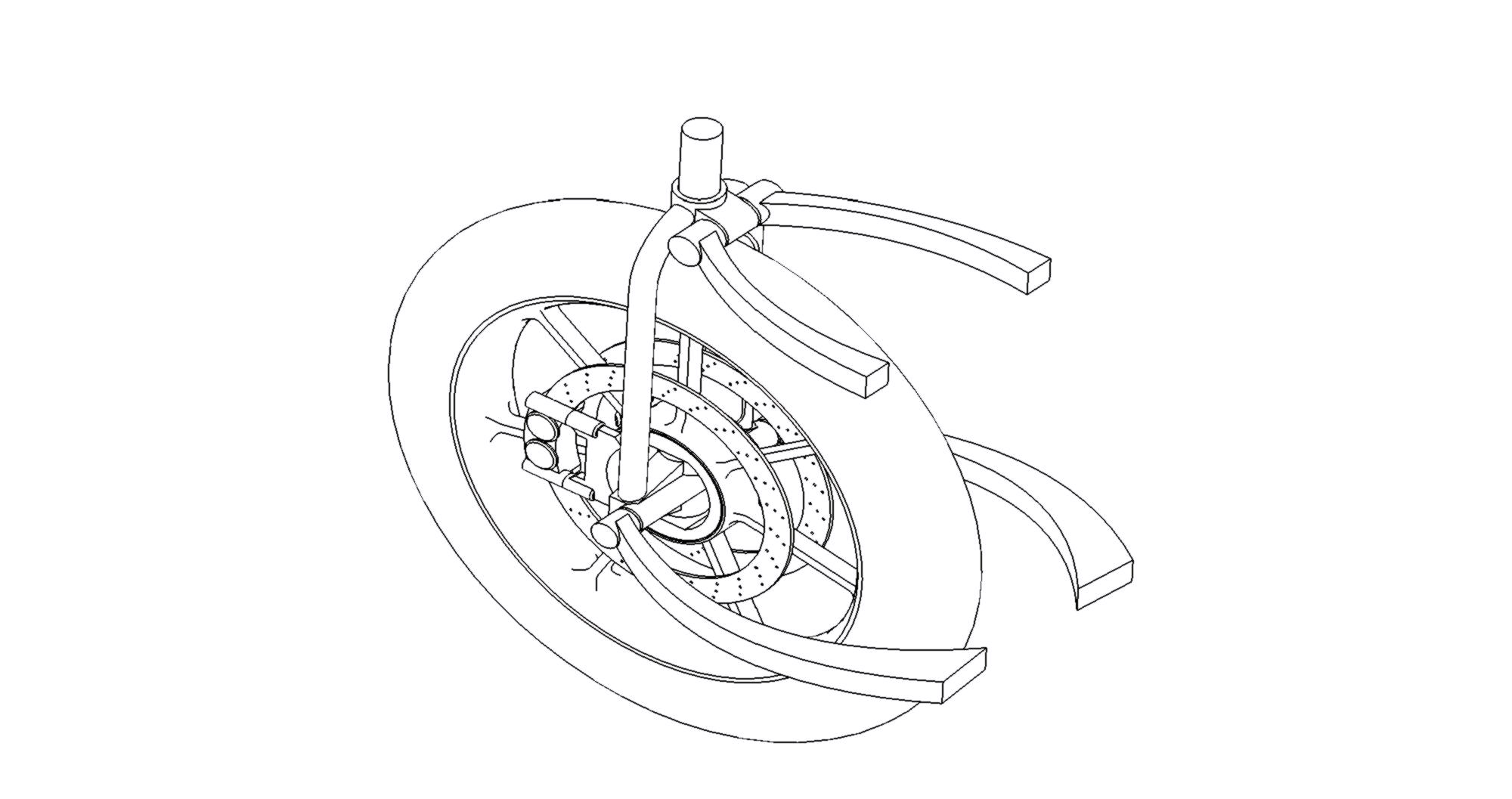 La Moto2 Hub Centre Steering Front Suspension System 2