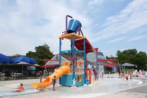 Summer Spray and Splash in Washington, DC