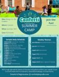 Fun-filled summer camp at Confetti