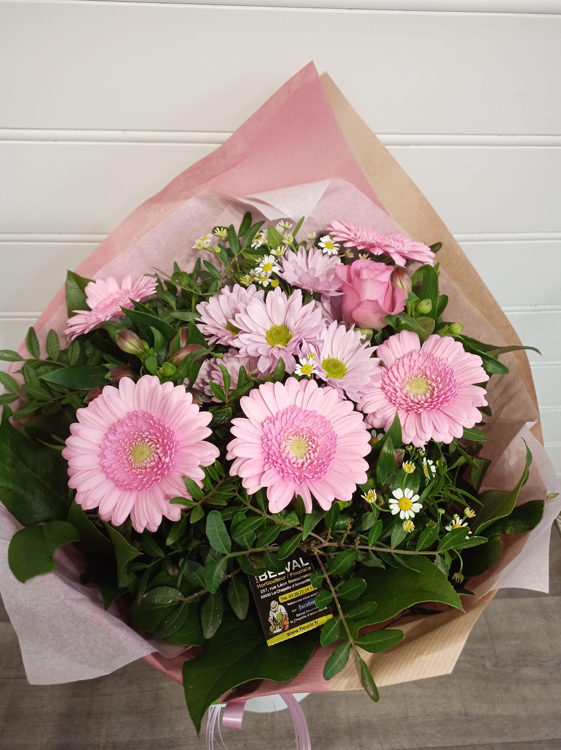 Bouquet longues tiges LISA