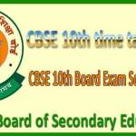 CBSE Class 10th and 12th Time Table 2016 Announced: Download Here
