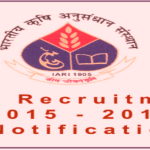 IARI Recruitment 2016 Released: Apply For 110 Technical Posts