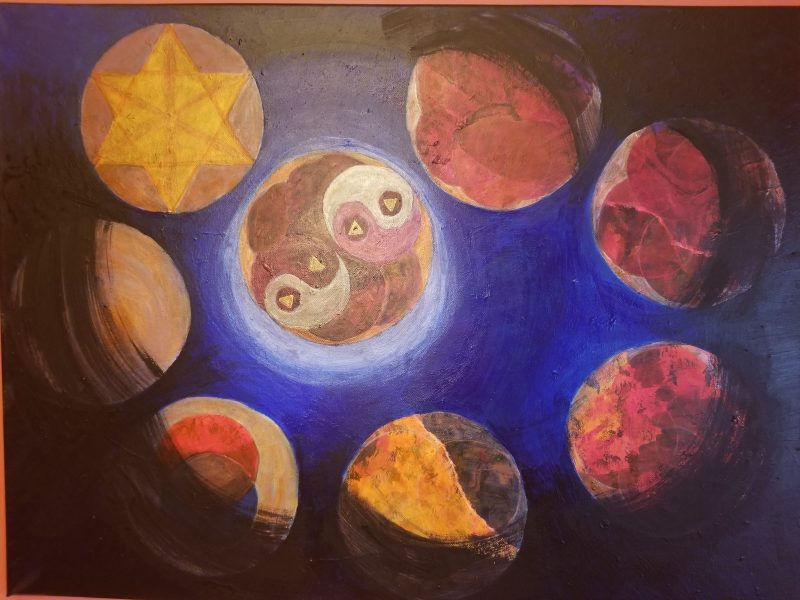The Power of Groups painting by Belynda Wilson Thomas