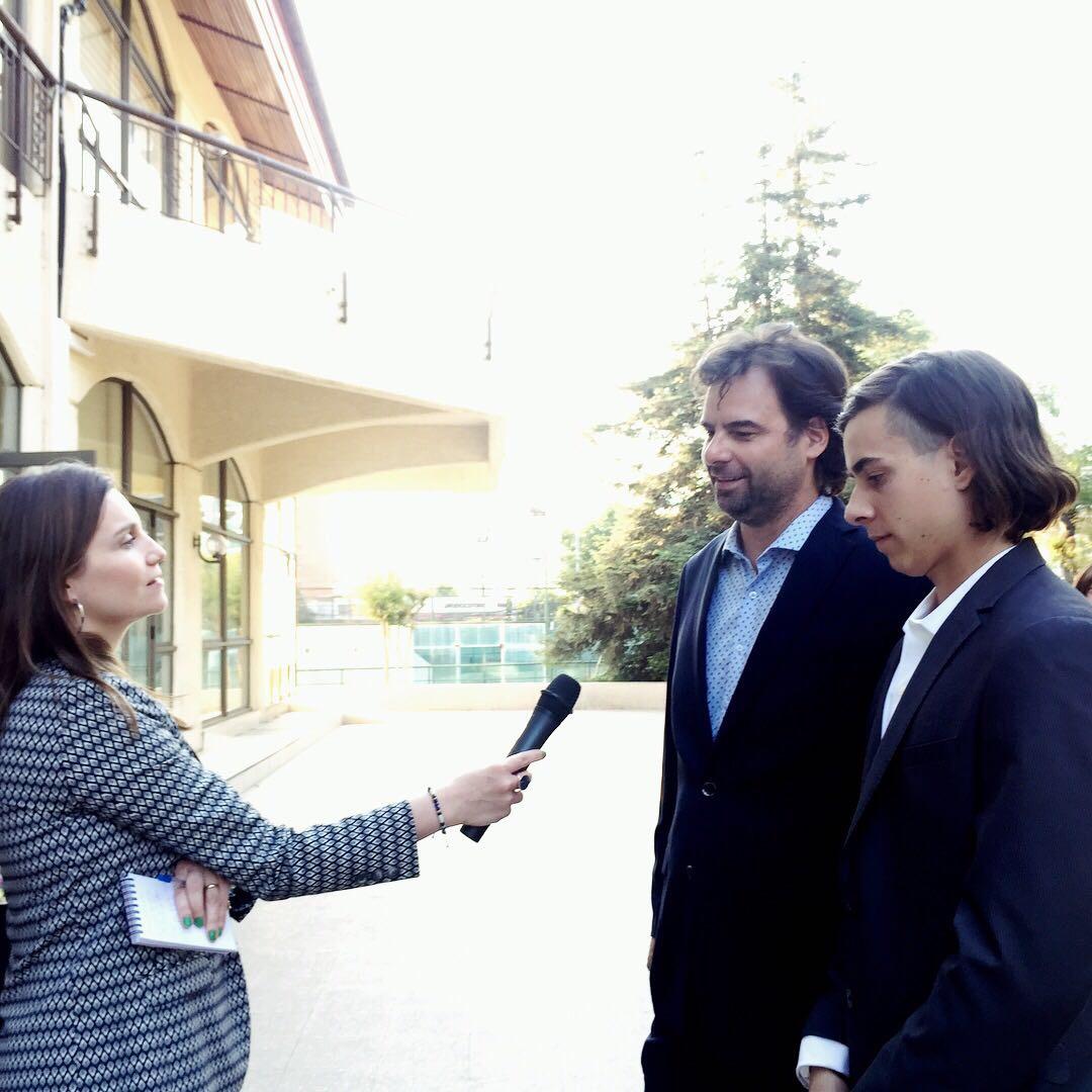 Ruy Barbosa y su hijo Ruy en entrevista con Bemark Comunicaciones