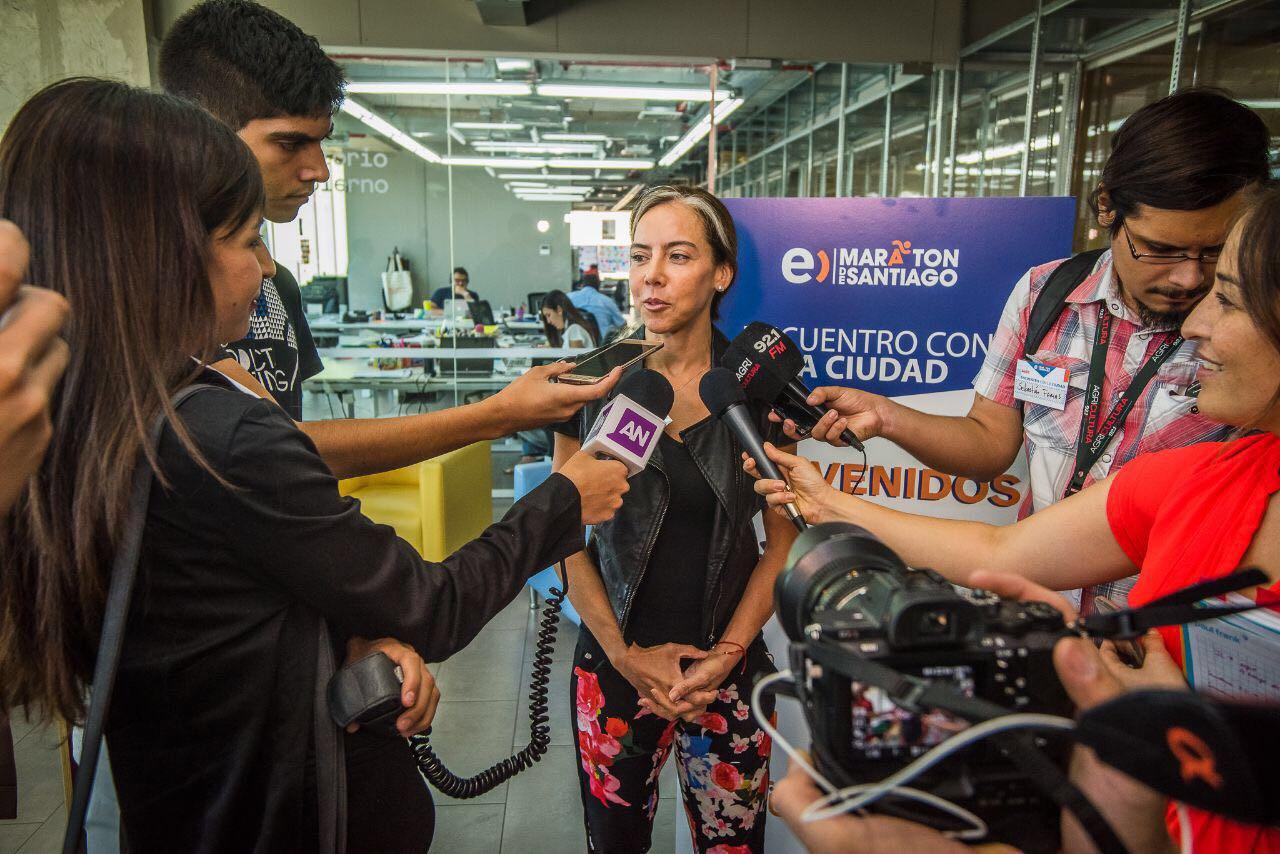 Francisca Aguirre, CEO Maratón de Santiago 2018