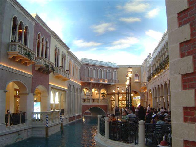 The Venetian Hotel Canals Las Vegas