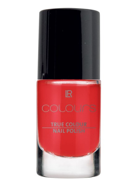 LR Colours Nail Polish 10 Red Kiss 10400-10