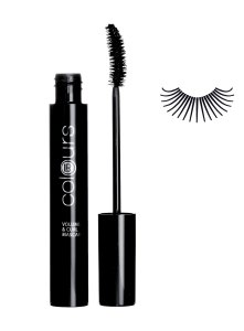 LR Colours Volume & Curl Mascara Absolute Black 10002-1