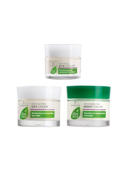 LR ALOE VIA Aloe Vera Face Care Set - Vorige Editie