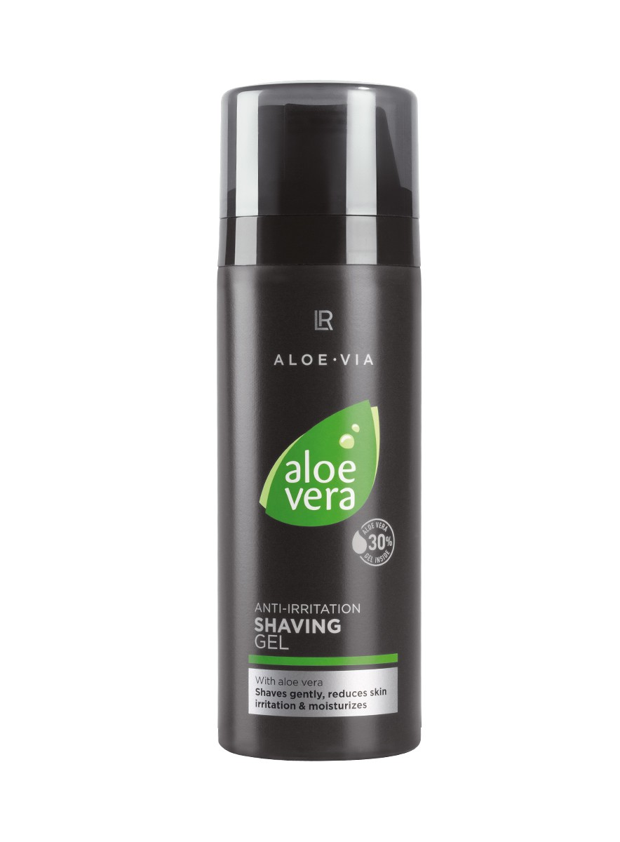 LR ALOE VIA Aloe Vera Anti-Irritation Shaving Gel
