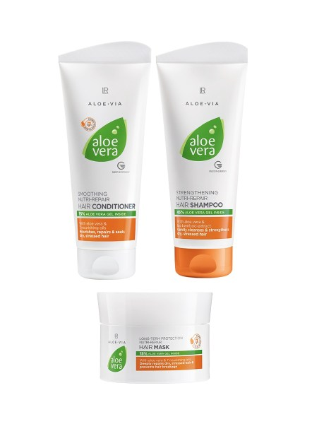 LR ALOE VIA Nutri-Repair Hair Care Set