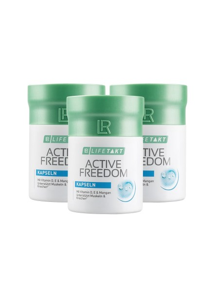 LR LIFETAKT Active Freedom Capsules - Set van 3