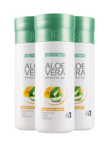 LR LIFETAKT Aloe Vera Drinking Gel Traditional Honey | Aloë Vera Drinking Gel Honing - Set van 3