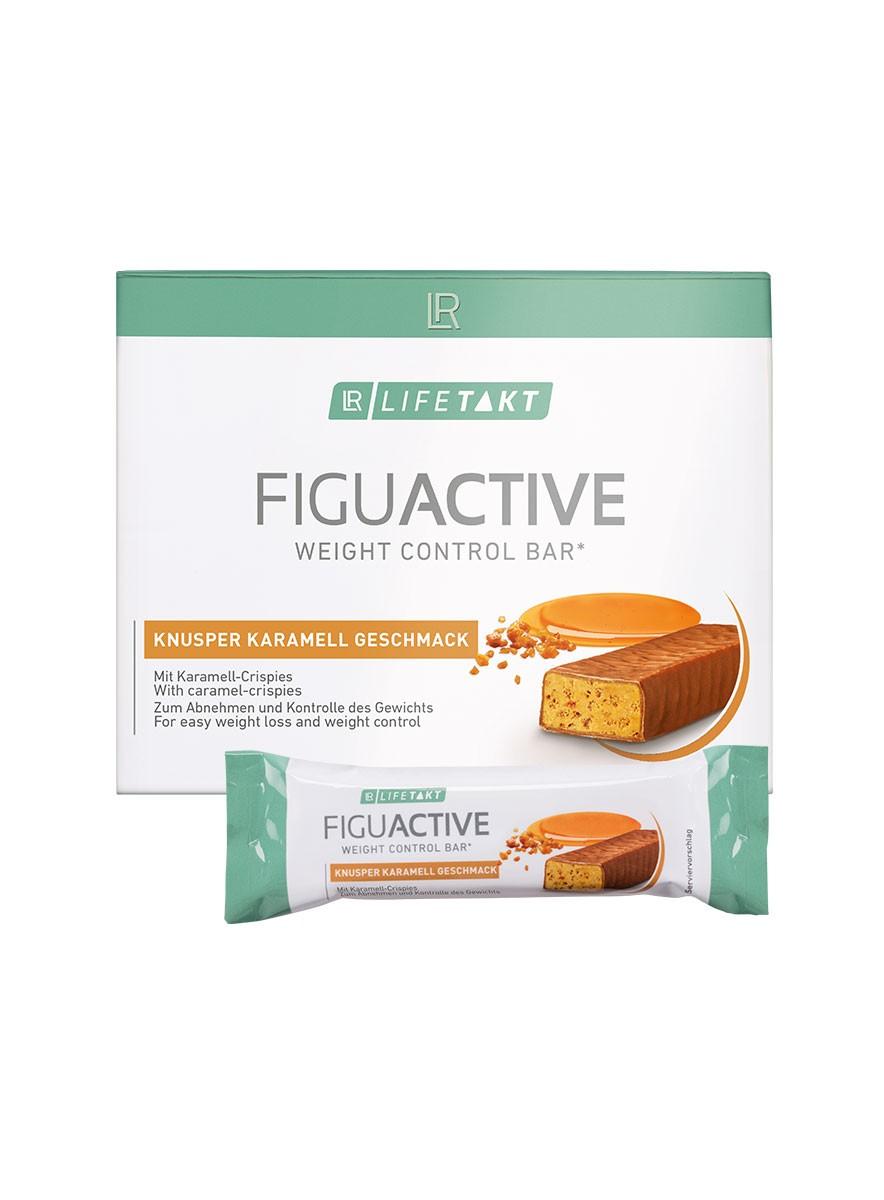 LR LIFETAKT FiguActive Weight Control Bar FiguActiv Crunchy Caramel Reep Maaltijdreep