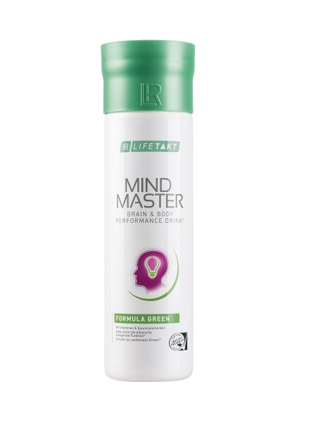 LR LIFETAKT MindMaster Brain & Body Performance Drink Mind Master Formula Green | Groen - Anti-stress drank