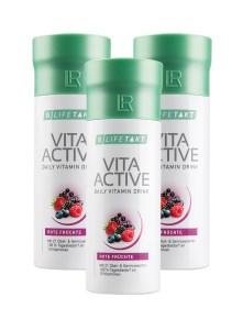 LR LIFETAKT Vita Active Daily Vitamin Drink - Vita Aktiv Dagelijkse Vitamine Drank - Set van 3
