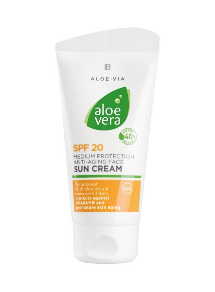 LR ALOE VIA Aloe Vera Anti-Aging Face Sun Cream SPF 20
