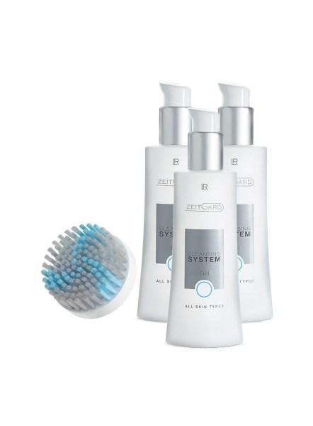 Zeitgard Cleansing System Gel All Skin Types Set | 3-maanden-set voor normale huid