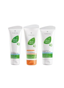 LR ALOE VIA Aloe Vera Hair & Body Set