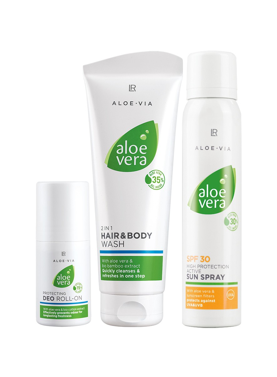 LR Aloe Vera Sun Care Sun Protection Set