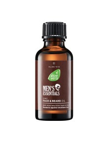LR ALOE VIA Aloe Vera Men's Essentials 2in1 Face & Beard Oil | Baardolie