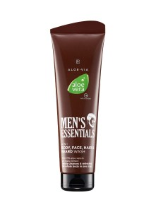 LR ALOE VIA Aloe Vera Men's Essentials 4in1 Body Face Hair & Beard Wash