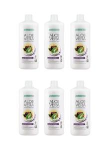 LR LIFETAKT Aloe Vera Drinking Gel Açaí Pro Summer - Limited Edition - Set van 6