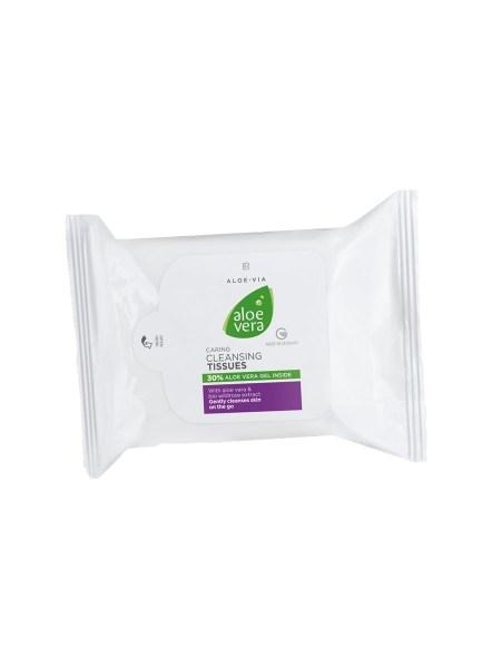 LR ALOE VIA Aloe Vera Caring Cleansing Tissues