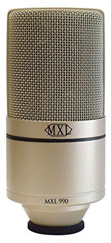 MXL 990 Condenser Microphone with Shockmount - Recording Studio - 1