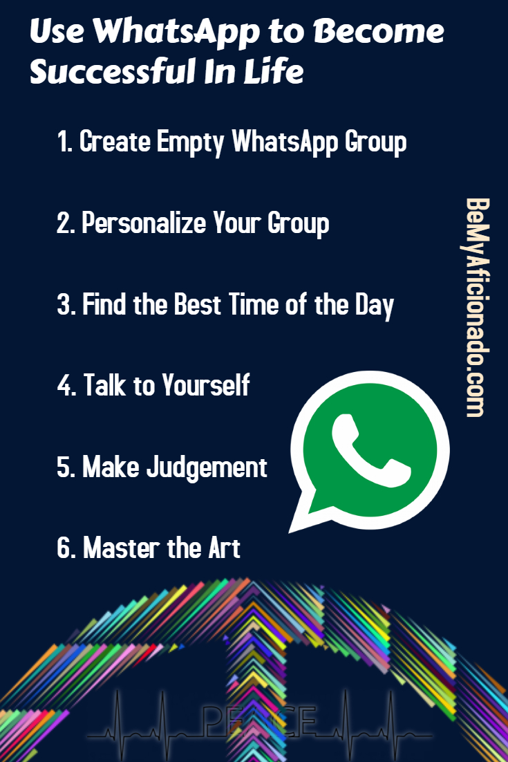 Pinterest:Use Whatsapp To Become Successful In Life